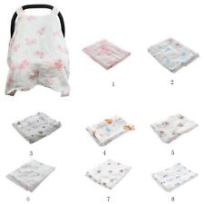 Baby Stroller Pram Car Seat Cover Breathable Cotton Soft Sun Shade Canopy