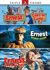Ernest Goes to Camp Ernest Scared Stupid Ernest Goes to Jail (DVD) NEW