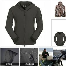 ESDY Hunting Tactical V4.0 TAD Shark Skin Soft Shell Hoodie Waterproof Jacket