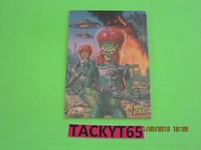 MARS ATTACKS OCCUPATION PARALLEL FOIL BASE SINGLE CARD(s) NUMBERS 1-36