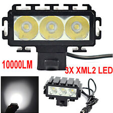 10000LM 3X XML2 LED Bike Bicycle Headlight Headlamp Rechargeable Lamp Set free