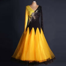 2016 NEW Latin Modern Tango Waltz Salsa Flamenco Foxtrot Ballroom Dance Dress