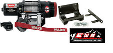 YAMAHA GRIZZLY 700 EPS 4X4 WARN PROVANTAGE 2500LB WINCH & MOUNT PLATE 12-15