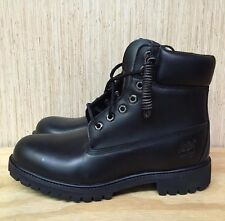 TIMBERLAND 6 INCH PREMIUM BOOT BLACK 6'' CONSTRUCTION LEATHER SZ 7-13 * 20570 *