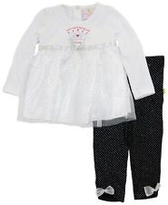 Duck Duck Goose Baby Girls' Tunic Dress Hard Being a Princess 2-Piece Outfit Set