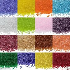 Wholesale 200-1000x Czech Glass Seed Charm Spacer Beads Jewelry Making Craft DIY