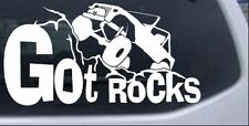 Got Rocks Off Road Decal Car or Truck Window Laptop Decal Sticker 4X4 10X5.4