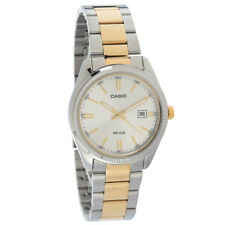 Casio Ss Silver/gold Watch  in Silver