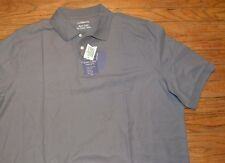 Croft & Barrow Big & Tall Signature Easy Care Pique Polo Shirt Castle Rock Gray