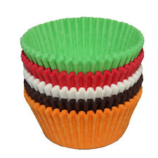 600 pcs Colorful Paper Cake Cupcake Liner Case Wrapper Muffin Baking Cup Party