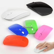 Slim 2.4GHz 1600 Dpi Wireless Optical Mouse Mice USB Receiver for PC Laptop BF9