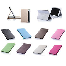 Diamond Grid Leather Skin Case Cover Protector Kickstand For Apple iPad Air 2 1
