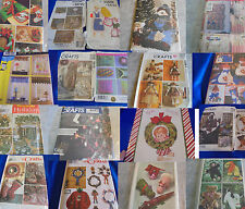 U PICK SEWING PATTERNS CRAFTS CHRISTMAS MORE