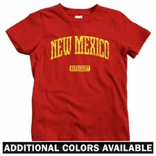 New Mexico Represent Kids T-shirt - Baby Toddler Youth Tee - Gift  Dukes Fan ABQ