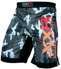 XXR Camo Pro MMA Fight Shorts Urban Camouflage UFC Cage Fight Grappling Boxin