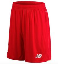 New Balance Home Shorts Trousers Red FC Liverpool 2015 2016 all size New