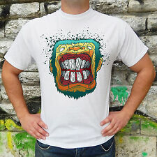 Adult Humor T-Shirt Men Cotton Offensive Monkey Funny Print Rude Cool Crazy