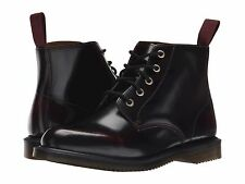 Women's Shoe Dr. Marten Emmeline 5-Eye Lace Up Leather Boot 16702601 Red *New*