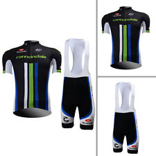 New Fashion Mens Cycling Jerseys Bib Shorts Padded Bicycle Outfits Size S-3XL