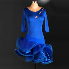 NEW Women Latin Dance Dress Chacha Salsa Rumba Samba Ballroom Competition L052-4