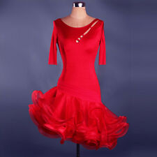 NEW Women Latin Dance Dress Chacha Salsa Rumba Samba Ballroom Competition L052-2