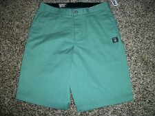 VOLCOM STONE New NWT Mens Walk Shorts Casual Green Chino 30 31 32 33 34 36