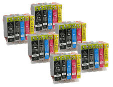 30 printer cartridges Ink Cartridges compatible for Canon BCI-3 BCI-6 SET