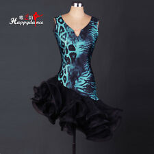 Women's Latin Dance Dresses Cha cha Salsa Rumba Samba Ballroom Competition L056