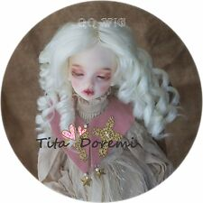 BJD Doll Dress Pullip Blythe SD AOD DOD AZONE YOSD BABY hair wig 7-8