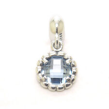 Genuine S925 Sterling Silver SBLUEBELL DROP DANGLE CHARM