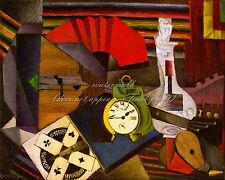 """DIEGO RIVERA Painting Poster or Canvas Print """"The Alarm Clock"""""""
