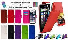 PU Leather Wallet Magnetic Flip Phone Case Cover For Apple iPhone 4,4s,5,5s,7,7+