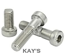 M10 (10mmØ) LOW HEAD CAP SCREWS A2 STAINLESS STEEL, HEXAGON SOCKET ALLEN BOLTS