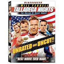 Talladega Nights: The Ballad of Ricky Bobby DVD, 2006, Unrated Edition