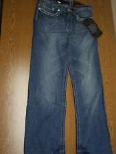 NWT HELIX mens boys jeans distressed 29x30 3 back and 3 front pockets bootcut