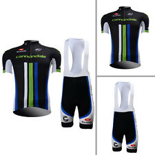 New Mens Cycling Jersey Bib Shorts Suits Bicycle Gear Shirt Brace Tights Padded