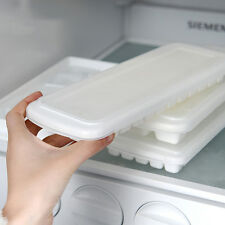 Healthy Ice Maker Diy Freeze Mold With Cover Ice Making Tray With Ice Cube