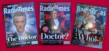 Doctor Who Peter Capaldi Radio Times issues - choose yours! CHARITY SALES.
