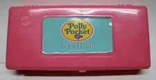 Vintage 1994 Bluebird Polly Pocket Compact playset game Pet Store 100% figures
