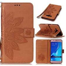 Lobelia Magnetic Wallet PU Leather Flip Case Cover Stand Strap For Phones Brown