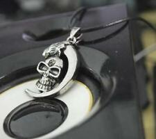 Stainless Necklace Pendant Silver Chain Tibet ​1 Pcs Men Steel Skull Infinity