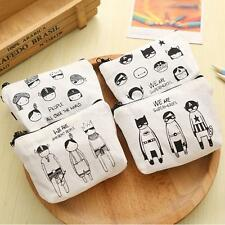 Retro Animals Coin Bag Wallet Change Coin Purse Hasp Clutch Card Holder Handbag