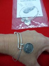 Alex and Ani Detroit Red Wing's Hockey Expandable Bracelet Russian Silver NWT