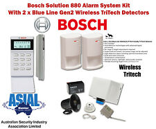 Bosch Solution 880U Alarm Kit w/ Blue Line Gen2 Detectors (Icon Keypad)