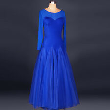 Women Latin Foxtrot Tango Viennese Waltz Rhythm Ballroom Competition Dance Dress