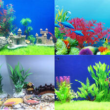 Aquarium Fish Tank Artificial Tree Plant Underwater Water Plant Ornament Decor