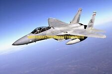 USAF F-15 Eagle Color Photo Military 131st Fighter Wing ANG F 15A Aircraft Jet
