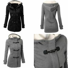 Winter Women Lady Thick Warm Coat Hooded Parka Long Slim Jacket Overcoat Outwear