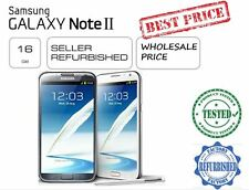 Samsung Note 2 16GB N7100/N7105 UNLOCK WHITE/BLACK COLOR @ Wholesale Price Cheap