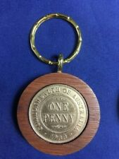 1929 Birthday Gift Present Jarrah Penny Keyring other years available